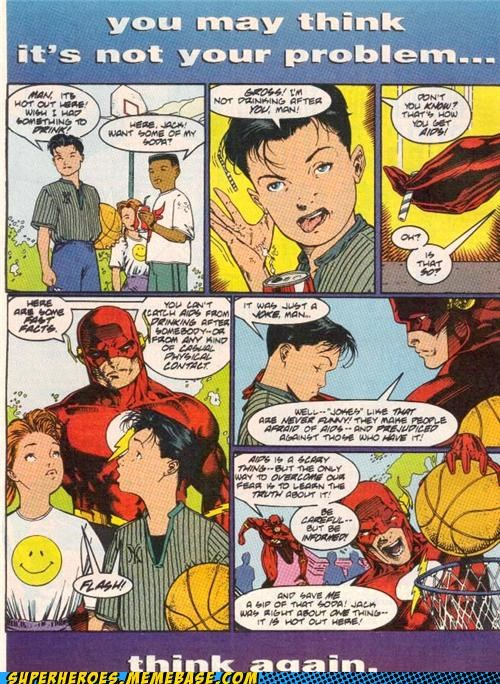 aids flash kids psa Straight off the Page wtf - 5021998848