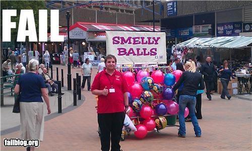 balls failboat innuendo Professional At Work signs - 5022633984
