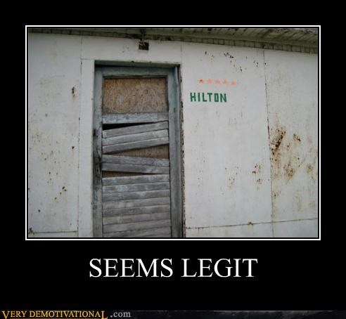 creepy door hilton seems legit Terrifying - 5022636288