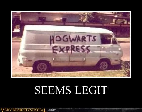 Hall of Fame,Hogwarts,seems legit,van