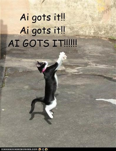caption captioned cat catching got it jumping reaching - 5023280896