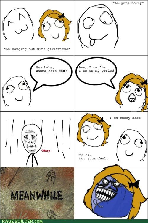 i lied lady times periods Rage Comics sexytimes - 5023780352