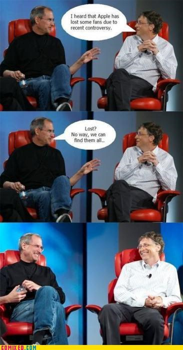 apple Bill Gates celebutard find gps location steve jobs tracking - 5023980544