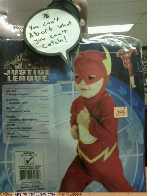 abort costume IRL the flash - 5024047872