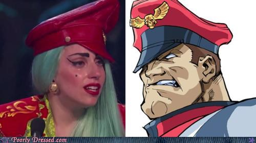 crying gaga watch hat lady gaga so you think you can dance Street fighter - 5024059136