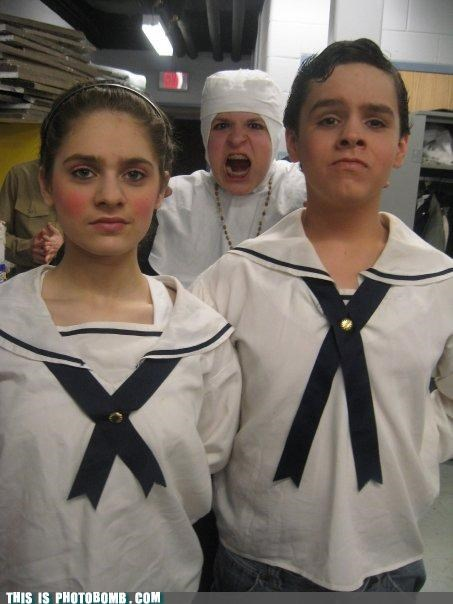 Kids are Creepers Too,nun,perform,play,sound of music,Stage,von trapp