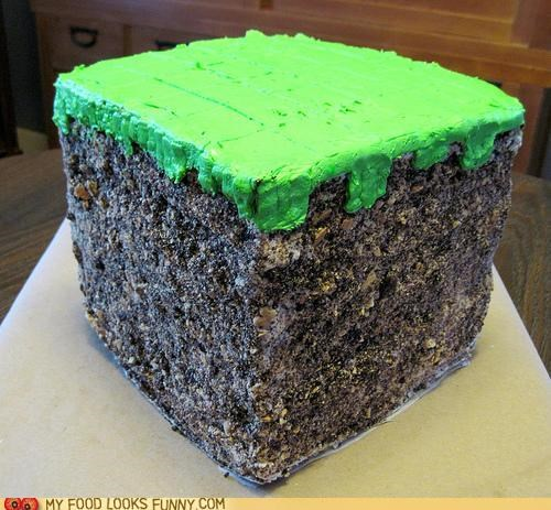 cake dirt grass icon minecraft - 5024224512