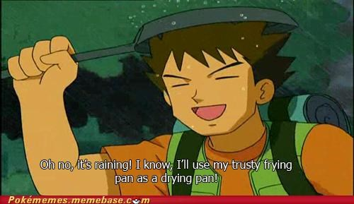 brock,crazy,frying pan,rain