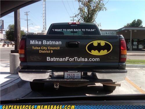 batman city council last name Random Heroics truck - 5024464896