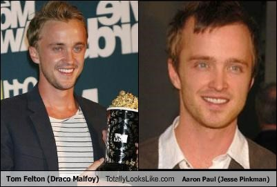 Tom Felton (Draco Malfoy) Totally Looks Like Aaron Paul (Jesse Pinkman)