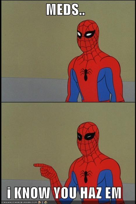 drugs meds Spider-Man Super-Lols - 5024578816