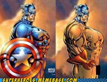 bad art captain america Random Heroics rob liefeld wtf - 5024610816