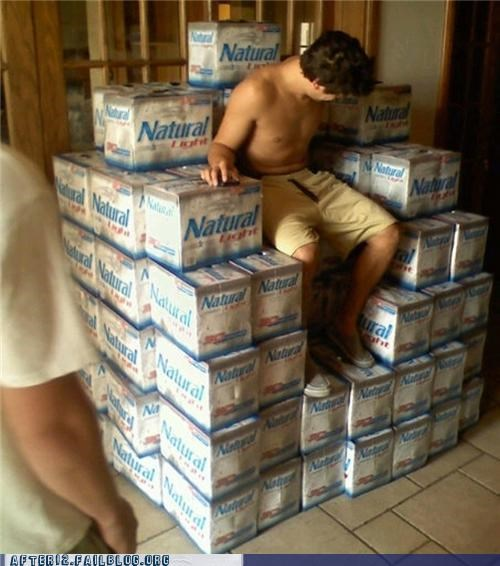 king,natty light,throne