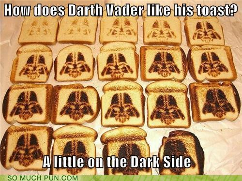 answer dark dark side darth vader double meaning Hall of Fame literalism question side star wars toast - 5025002240