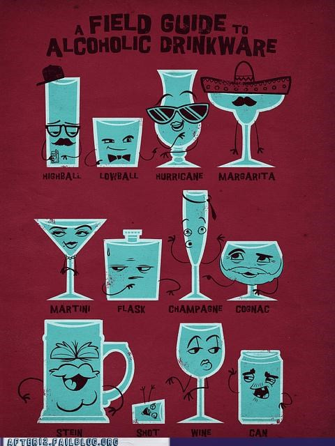 beer,infographic,margarita,shot,wine