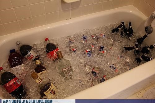 bathroom,bathtub,doing it right,ice