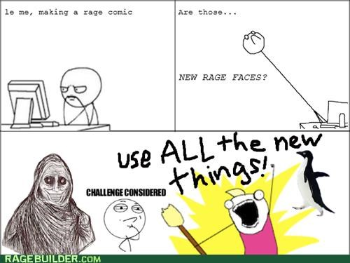 all the things,never alone,Rage Comics,rage faces,socially awkward penguin,win