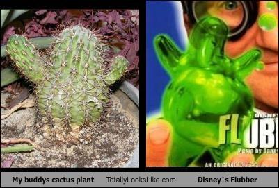 cactus disney Flubber green plant plants - 5025380096