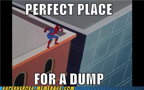 idiot,poop,Spider-Man,Super-Lols,wtf