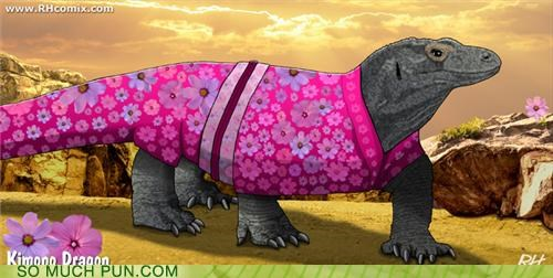 dragon kimono komodo dragon literalism similar sounding - 5026443520