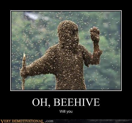 beehive bees creepy hilarious wtf - 5026456576