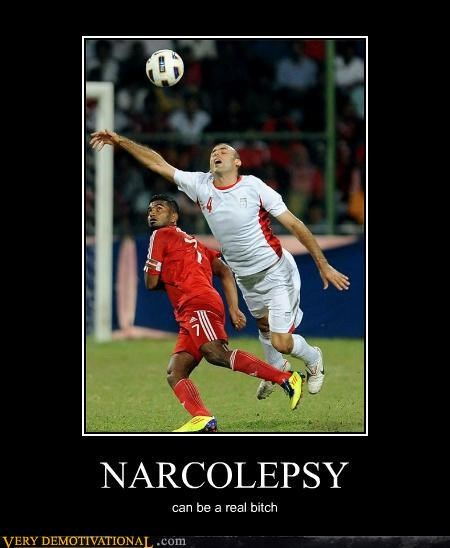 hilarious narcolepsy soccer sports wtf - 5026640384