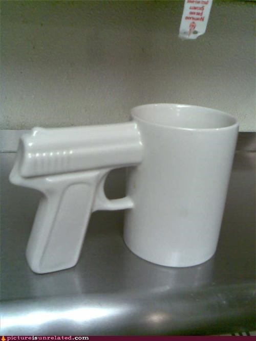 cup espresso gun shot wtf
