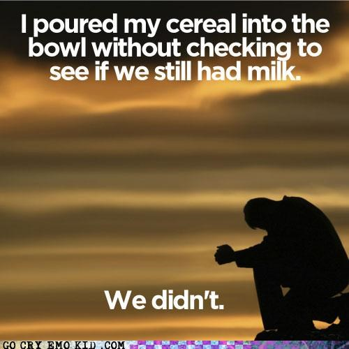 cereal,Death,emolulz,milk,Sad