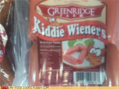 hot dogs kiddie kitty wieners