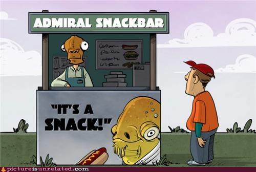 admiral ackbar art snack stand wtf - 5026978560