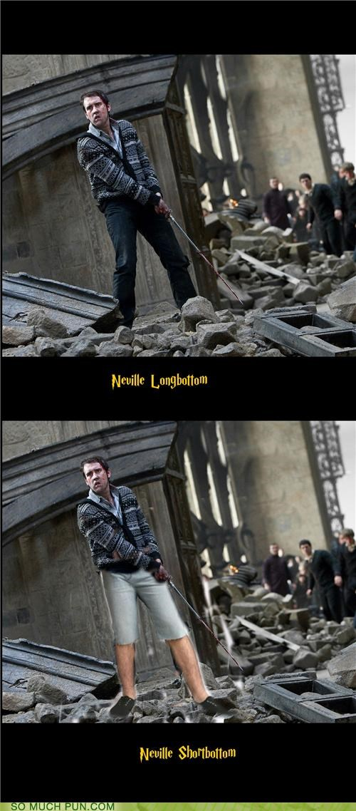 bottom Harry Potter literalism long neville longbottom short - 5027128064