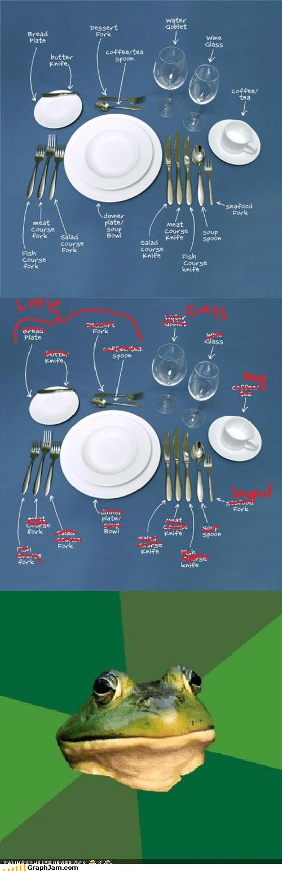 etiquitte forks foul bachelor frog spoons - 5027571712