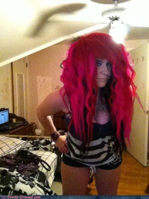 hair pink scene - 5027695360