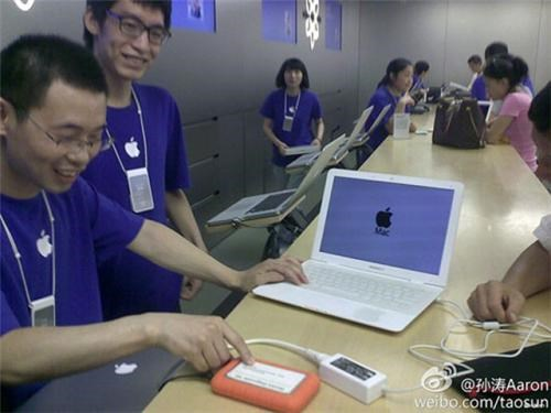 apple stoer apple store bootleg China fake geniuses macbook air Tech - 5028009216