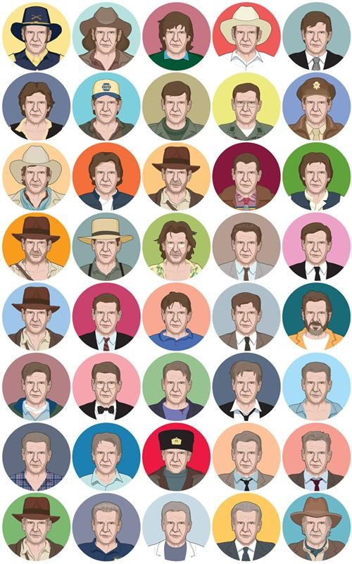 Chip Zdarsky Harrison Ford iconography The Big 4-0 - 5028067840