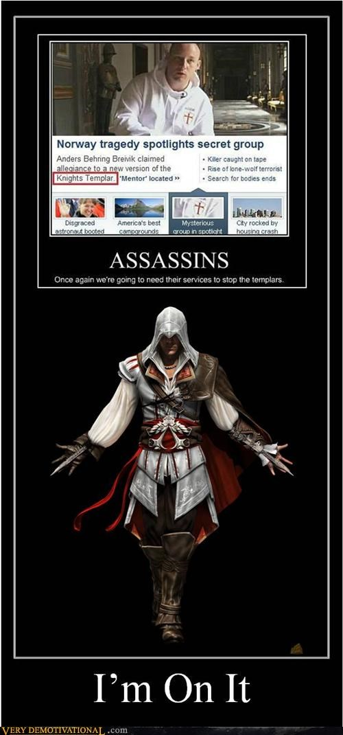 assassins creed,hilarious,templar,video games