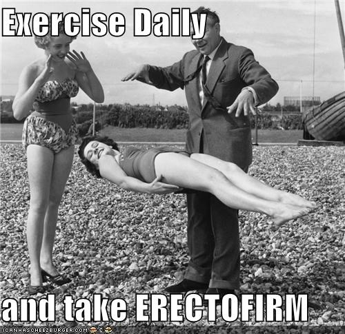 erectofirm exercise historic lols levitation magic magicians