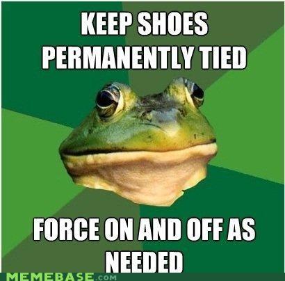 foul bachelor frog not shoes slip slipknot tie - 5028475904