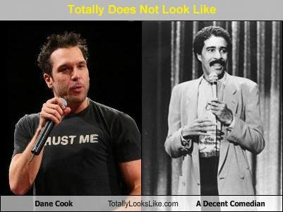 comedians,dane cook,richard pryor,Totally Does Not Look Like