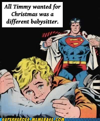 babysitter crying Super-Lols superman - 5028565248