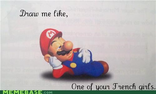 french girls italian mario one of your french girls video games - 5028889088