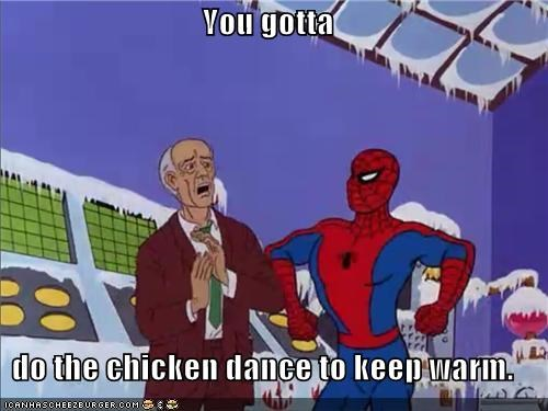 chicken dance cold Spider-Man Super-Lols - 5029115392