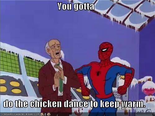chicken dance cold Spider-Man Super-Lols - 5029115392