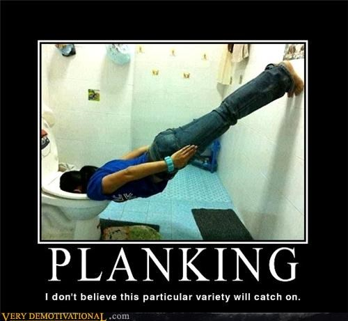 catch on Planking Pure Awesome toilet - 5029127936