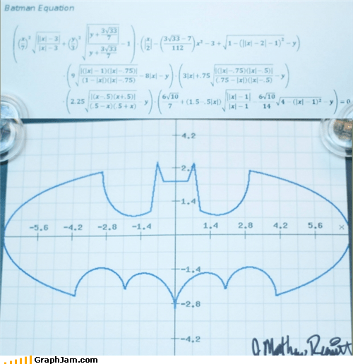 batman does this work graph IRL math - 5029239552