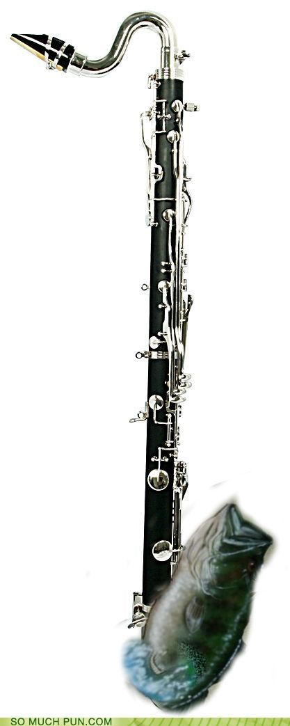 bass bass clarinet clarinet double meaning Hall of Fame literalism - 5029387776