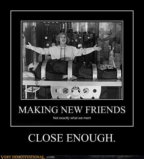 Close Enough hilarious Movie young frankenstein - 5030339584