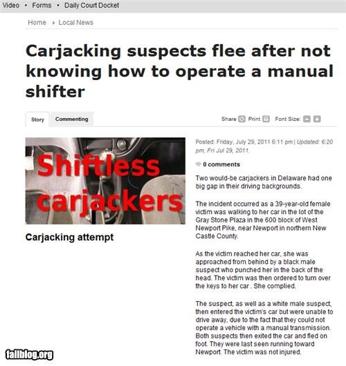 driving failboat g rated Probably bad News stupid criminals - 5030426880