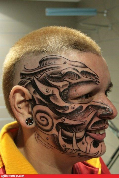 face tats other bod mods - 5030733824