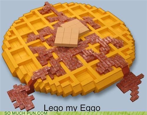 eggo,Hall of Fame,homophone,leggo my eggo,lego,literalism,slang,slogan,waffle